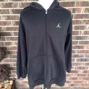 Nike Air Jordan Hoodie Black Size XLarge